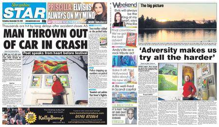 Shropshire Star Shrewsbury Edition – November 25, 2017