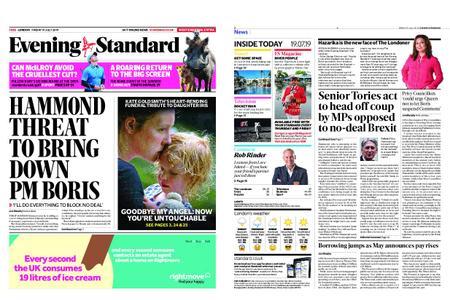 London Evening Standard – July 19, 2019