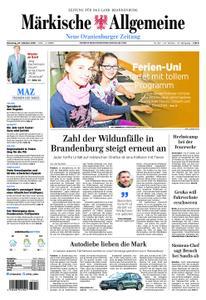 Neue Oranienburger Zeitung - 23. Oktober 2018