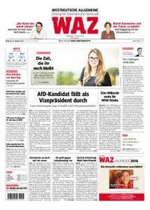 WAZ Westdeutsche Allgemeine Zeitung Oberhausen-Sterkrade - 25. Oktober 2017