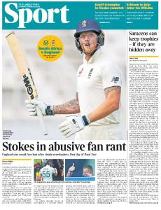 The Times Sports - 25 January 2020