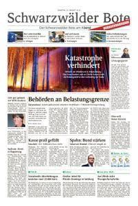 Schwarzwälder Bote Blumberg - 25. August 2018