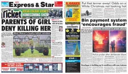 Express and Star City Edition – December 07, 2018