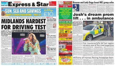 Express and Star Sandwell Edition – July 17, 2018
