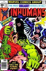 Inhumans v1 12-A Berserker called Hulk
