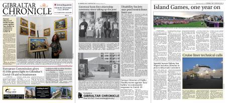 Gibraltar Chronicle – 08 July 2020