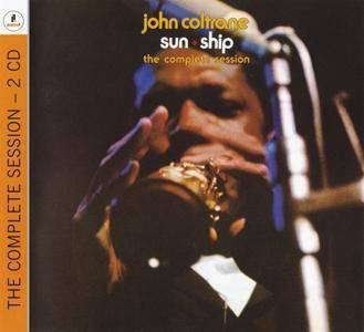 John Coltrane - Sun Ship: The Complete Session (1965) {2CD Set Impulse! B0018075-02 rel 2013}
