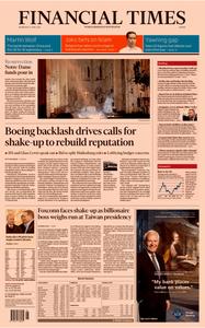 Financial Times Europe – 17 April 2019