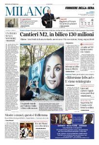 Corriere della Sera Milano – 25 ottobre 2018