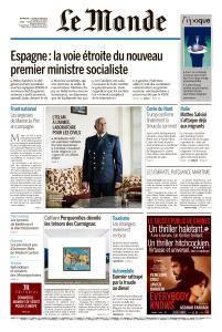 Le Monde du Dimanche 3 et Lundi 4 Juin 2018