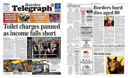 Border Telegraph – June 27, 2018