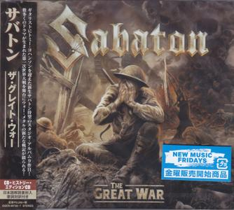 Sabaton - The Great War (2019) [2CD, Japanese Ed.]