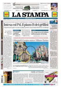 La Stampa Torino Provincia e Canavese - 30 Marzo 2018