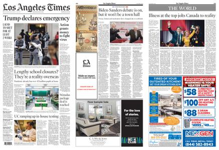 Los Angeles Times – March 14, 2020