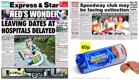 Express and Star Sandwell Edition – October 06, 2017