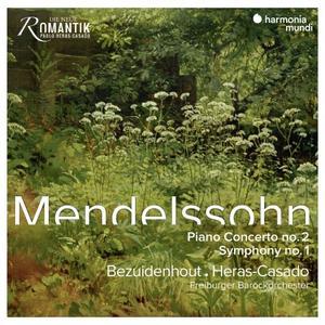 Pablo Heras-Casado & Kristian Bezuidenhout - Mendelssohn: Piano Concerto No. 2 & Symphony No. 1 (2019) [24/96]