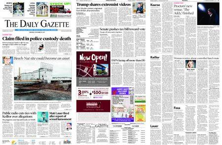 The Daily Gazette – November 30, 2017