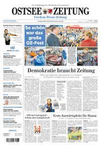 Ostsee Zeitung Wolgast - 11. September 2017