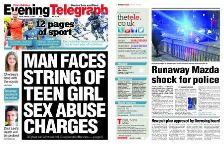 Evening Telegraph First Edition – February 16, 2018
