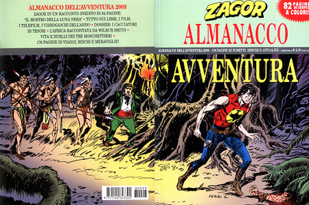 Zagor - Almanacco Avventura 2009 - Il Mostro Della Luna Nera