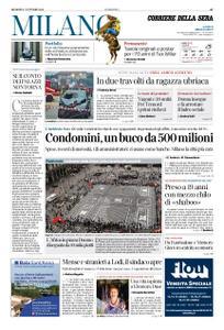Corriere della Sera Milano – 07 ottobre 2018