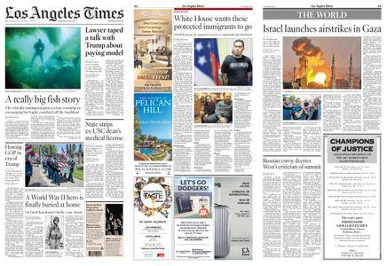 Los Angeles Times – July 21, 2018