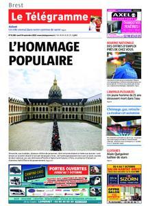 Le Télégramme Brest – 30 septembre 2019