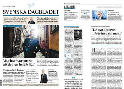 Svenska Dagbladet – 18 februari 2019