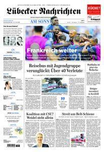 Lübecker Nachrichten Ostholstein Süd - 01. Juli 2018