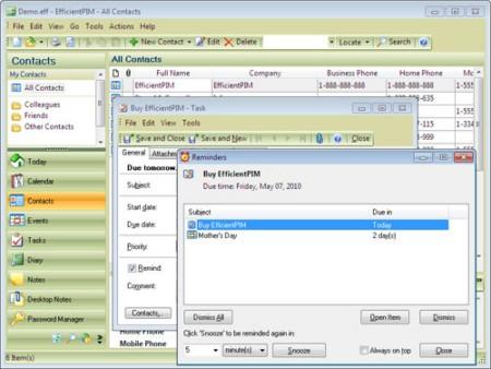 Efficient Mans Organizer Pro 1.07.26 Multilanguage Portable
