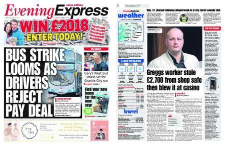 Evening Express – January 12, 2018