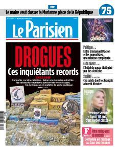 Le Parisien du Mercredi 24 Avril 2019
