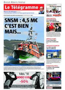 Le Télégramme Brest Abers Iroise – 22 octobre 2019