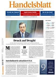 Handelsblatt - 12. September 2019