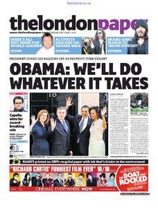 The London Paper 1 April 2009