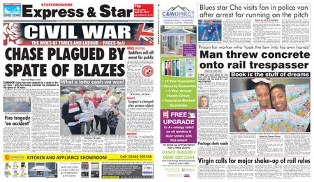 Express and Star Staffordshire Edition – April 24, 2019