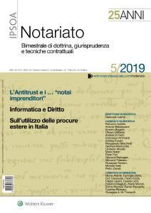 Notariato - Settembre-Ottobre 2019