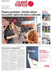 Ouest-France Édition France – 28 octobre 2021