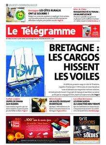 Le Télégramme Ouest Cornouaille – 17 juillet 2020