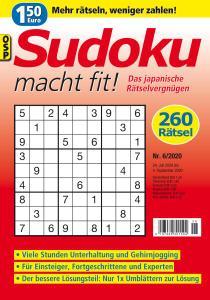 Sudoku macht fit - Nr.6 2020