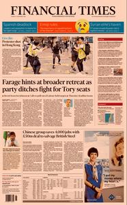 Financial Times UK – 12 November 2019