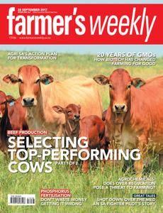 Farmer's Weekly - 22 September 2017