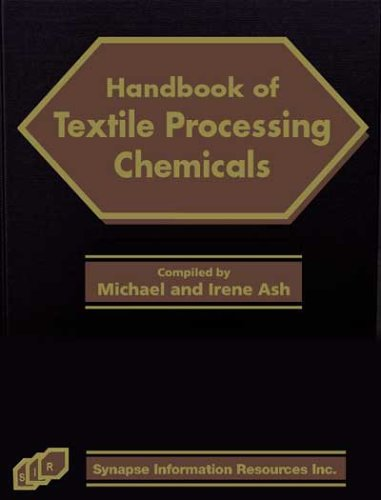 Handbook of Textile Processing Chemicals