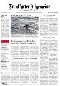 Frankfurter Allgemeine Zeitung - 29 Dezember 2020
