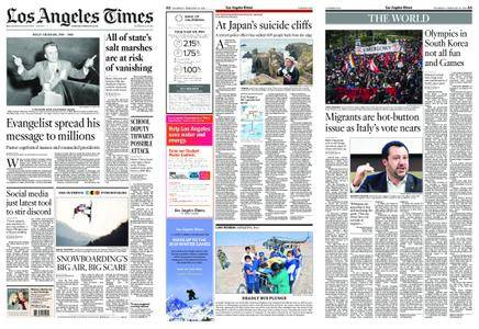 Los Angeles Times – February 22, 2018