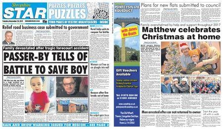 Shropshire Star Shrewsbury Edition – December 26, 2017