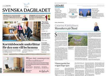 Svenska Dagbladet – 28 juli 2018
