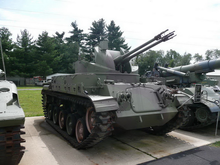 M42A1 Duster Walk Around