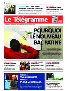 Le Télégramme Auray – 15 janvier 2020
