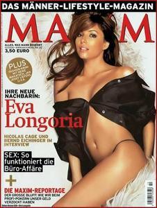 Eva Longoria: German Maxim - October 2006 & Entertainment Weekly - September 2006